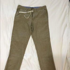 Men's Banana Republic linen pants size 34 x 34